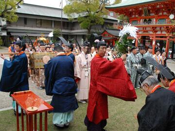 生田祭例祭並びに氏子奉幣祭