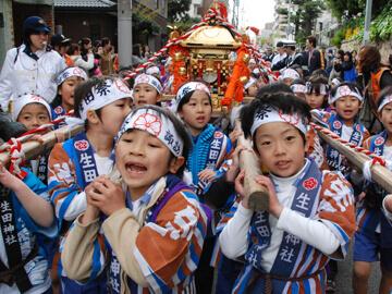 生田祭神幸式