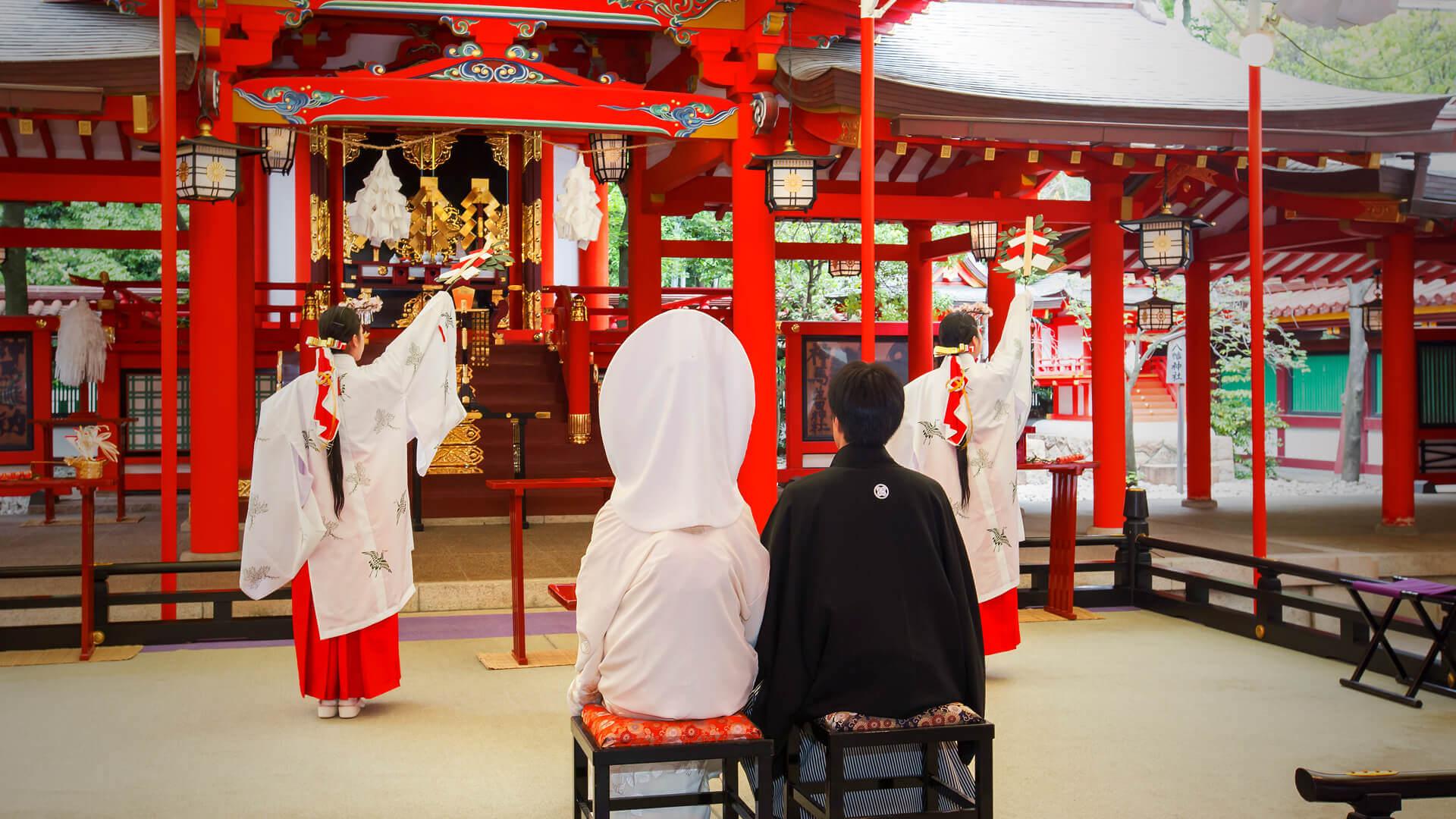 神前式結婚式5